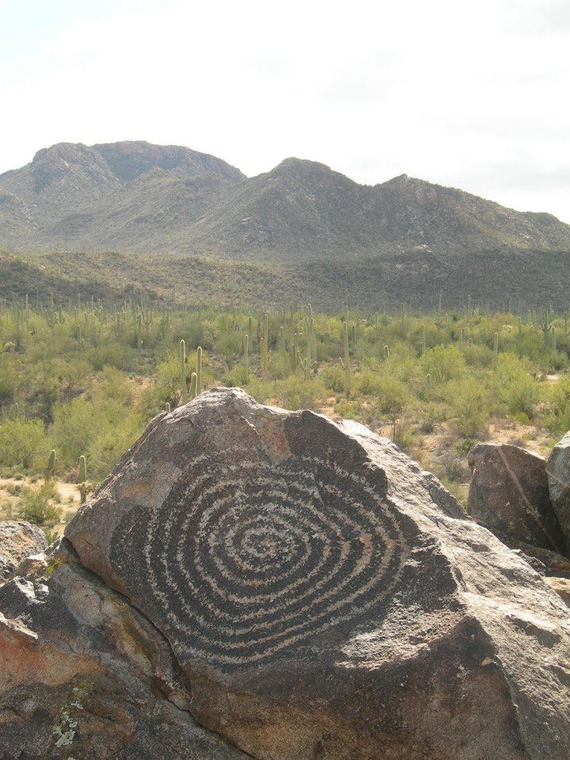 Photo of rock art